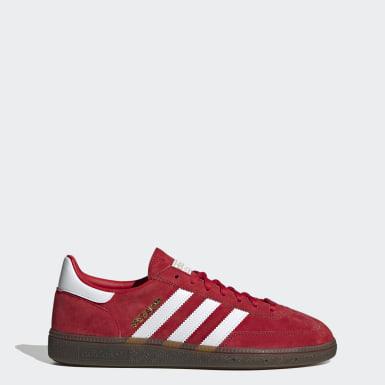 Heren Originals Rood Handball Spezial Schoenen