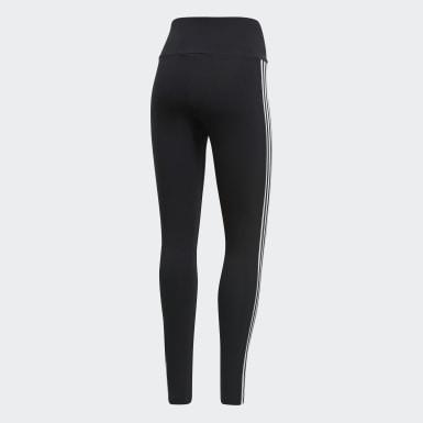 ผู้หญิง Originals สีดำ กางเกงรัดรูป Adicolor 3D Trefoil