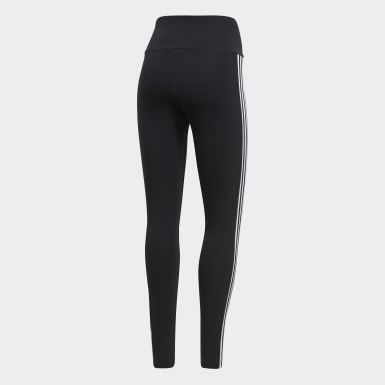 Frauen Originals Adicolor 3D Trefoil Leggings Schwarz
