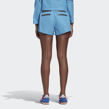 Dam Originals Blå Lotta Volkova Zip Shorts