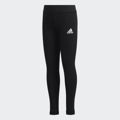 Girls Athletics Black Style Comfort Leggings