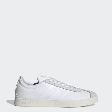 Men Sport Inspired White VL Court 2.0 Shoes