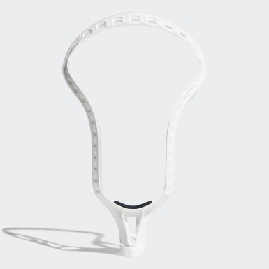 Men's Lacrosse White EQT Bawse Lacrosse Head