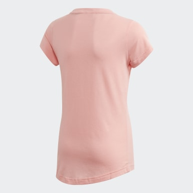 Camiseta Must Haves Badge of Sport Rosa Niña Training