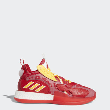 Men Basketball Red ZoneBoost Shoes
