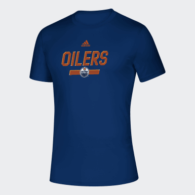 T-shirt Oilers Multifaceted multicolore Hommes Hockey