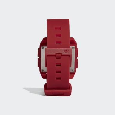 Relógio Archive_SP1 Vermelho Originals