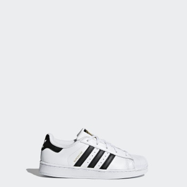 Children Originals White Superstar Foundation Shoes