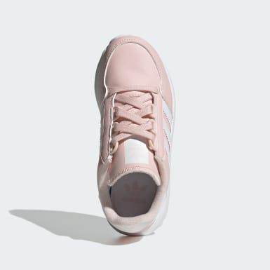 Meisjes Originals roze Forest Grove Schoenen