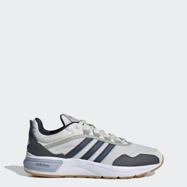 Men Sport Inspired Grey 90s Runner Shoes