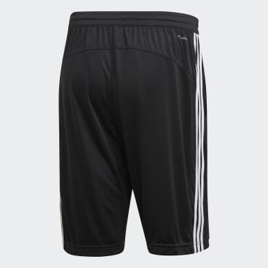 Heren Veld Hockey Zwart Design 2 Move Climacool 3-Stripes Short