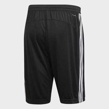 Muži Pozemní Hokej černá Šortky Design 2 Move Climacool 3-Stripes