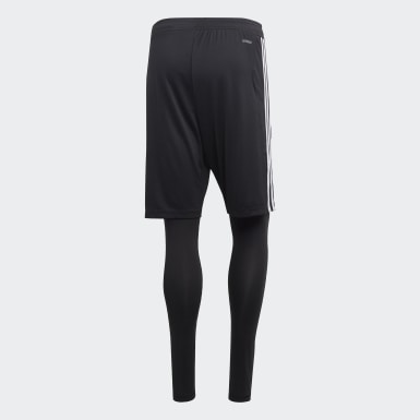 Short Tiro 19 Two-in-One Noir Hommes Training