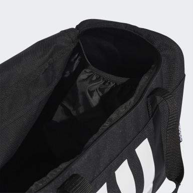 Training Siyah 3-Stripes Duffel Çanta - Küçük Boy