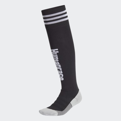 Chaussettes Real Madrid Human Race Noir Football