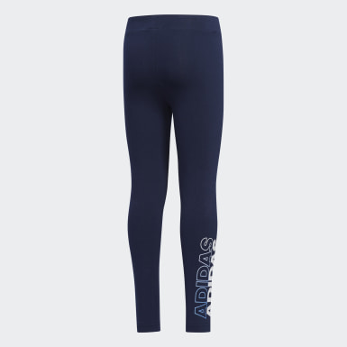 Legging Bleu Filles Yoga