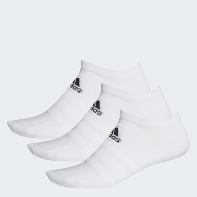 Running White Low-Cut Socks 3 Pairs