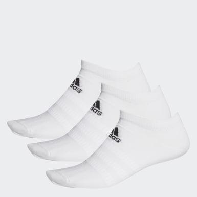 Meias Low-Cut 3 Pares (UNISEX) Branco Training
