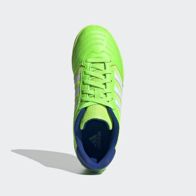 Boys Football Green Super Sala Boots