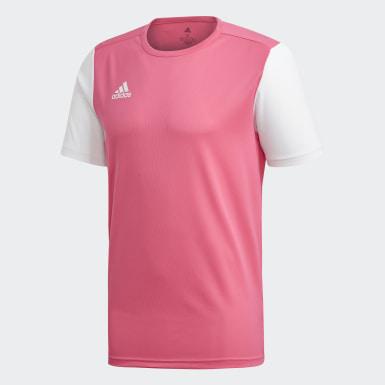 Camisa Estro 19 Rosa Homem Futebol