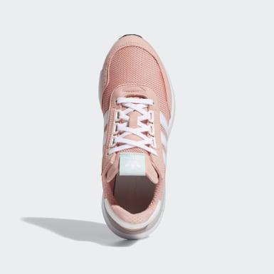 Dames Originals Roze Retroset Schoenen