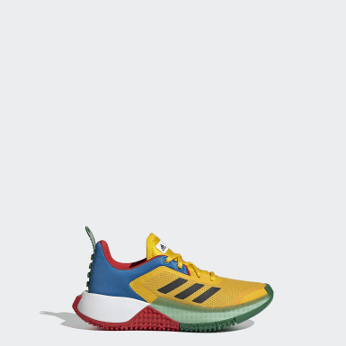 Kids Running Yellow adidas x LEGO® Sport Shoes