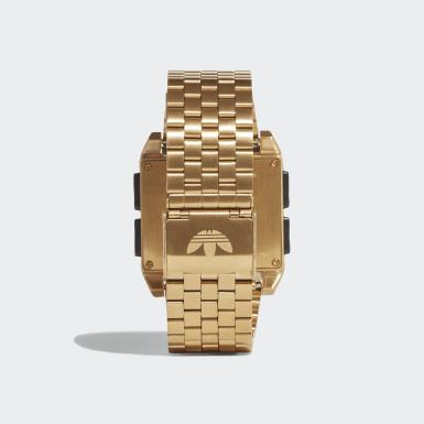 Relógio ARCHIVE_M1 Dourado Originals