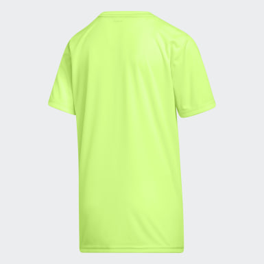 Youth Training Green AEROREADY Dot Lines Badge of Sport Tee