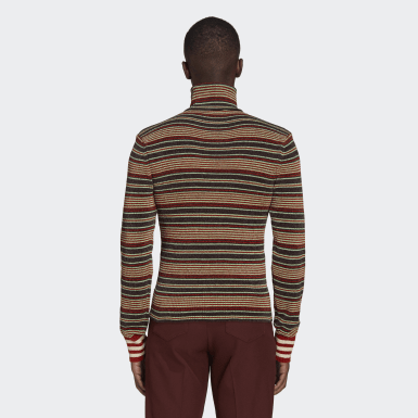 Men Originals Multicolor Wales Bonner Rollneck Sweater