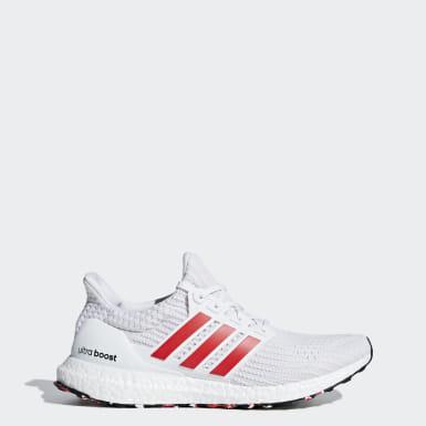 Sapatos Ultraboost Branco Homem Running