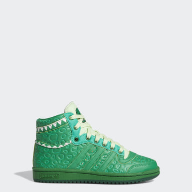 Youth Originals Green Top Ten Hi x Rex Toy Story Shoes