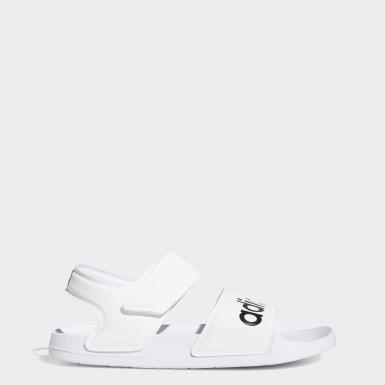Yoga White Adilette Sandals