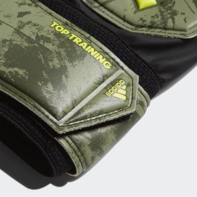 Futbal zelená Brankárske rukavice Predator Top Training