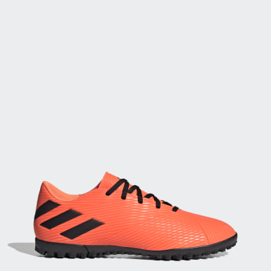 Calzado de Fútbol Nemeziz 19.4 Pasto Sintético Naranja Mujer Fútbol