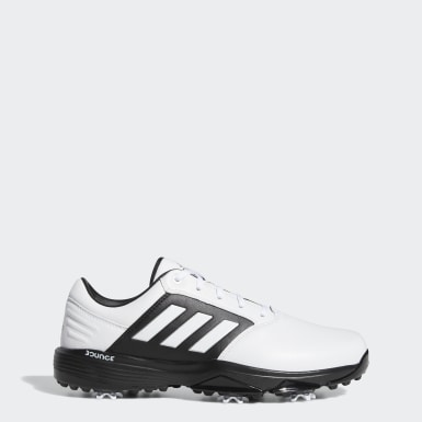 Men Golf White 360 Bounce 2.0 Golf Shoes
