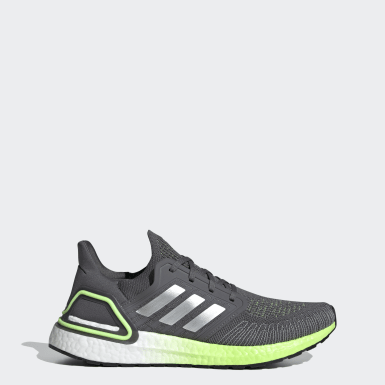 Men Running Grey Ultraboost 20 Shoes
