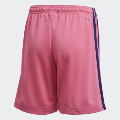 Kids Football Pink Real Madrid 20/21 Away Shorts