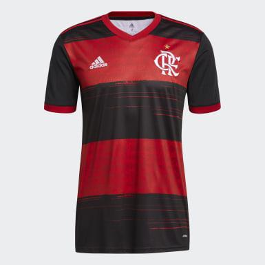 Maillot Domicile CR Flamengo Noir Hommes Football