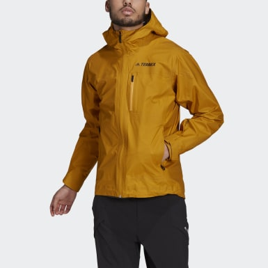 Men TERREX Gold Terrex Fastr GORE-TEX Rain Jacket