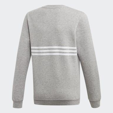 Youth Originals Grey Outline Crew Sweatshirt