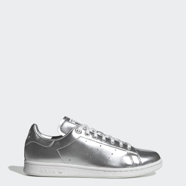 Dames Originals Zilver Stan Smith Schoenen