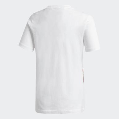 T-shirt do Arsenal Branco Criança Futebol