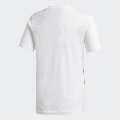 T-shirt Graphic Arsenal FC Bianco Bambini Calcio