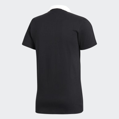 Polera con cuello Condivo 18 Cotton Negro Hombre Fútbol