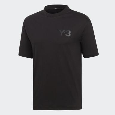 Y-3 Logo Tee Nero Uomo Y-3