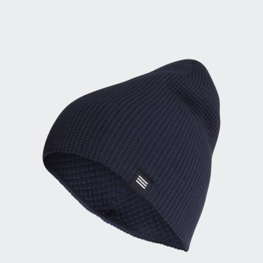 синий Двухсторонняя шапка