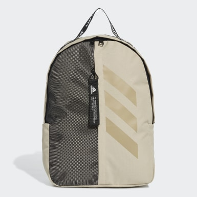 Training Beige Classic 3-Stripes at Side Backpack