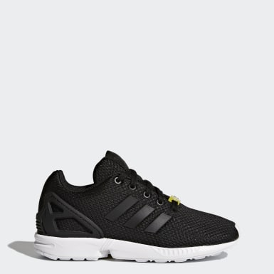 Zapatilla ZX Flux Negro Niño Originals