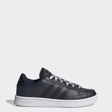 Sapatos Grand Court SE Azul Mulher Ténis