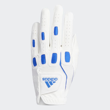 Men Golf White Multifit Glove